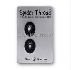 Fil d'araignée (2 pièces)-pour tarentule et stylo araignée pro/gros plan rue professionnel truc de magie produit/vente en gros