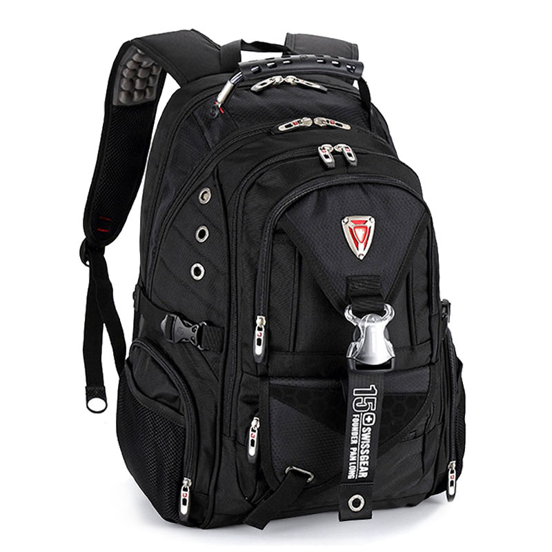 17 inch swiss laptop travel backpacks men waterproof Business backpacks School bags Waterproof Shoulder bags Mochila Masculina