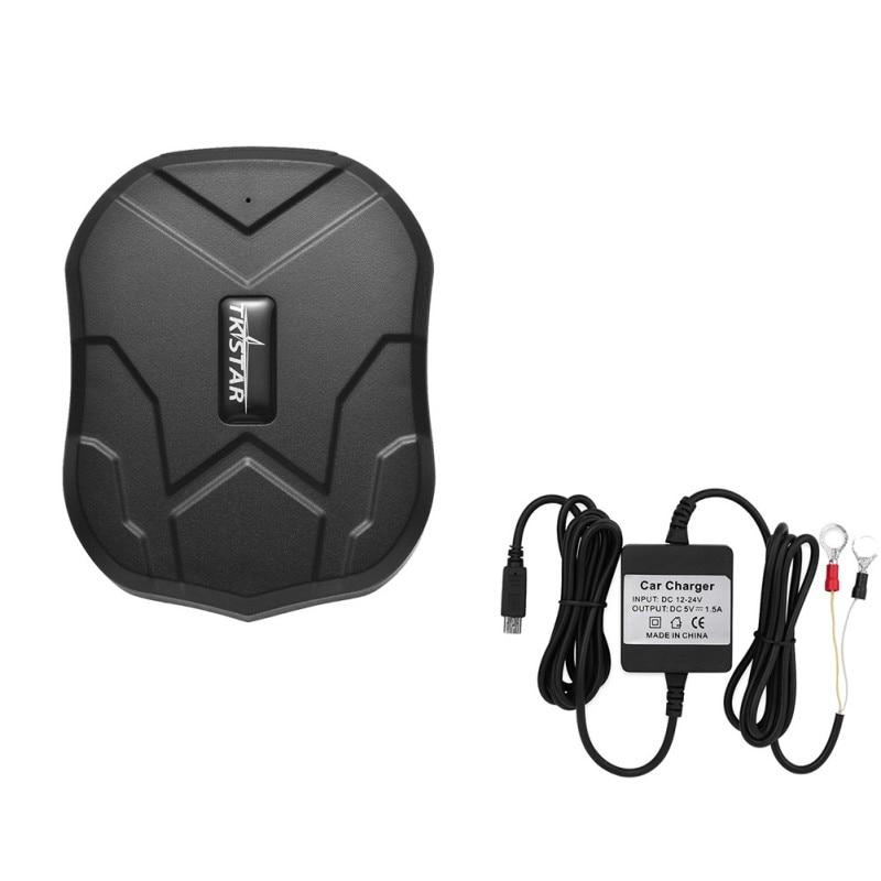 GPS Car Tracker 5000 mAh 90 Days Standby 2G Vehicle GPS Tracker Locator Proof D 'Water Free Web Voice Monitor APP New