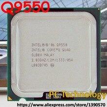 Процессор Intel Core 2 Quad Q9550(12 м, 2,83 ГГц, 1333 МГц) LGA775 cpu настольный компьютер в течение 1 дня