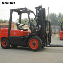 3500kg Diesel Powered Forklift Truck Container Fork Lift