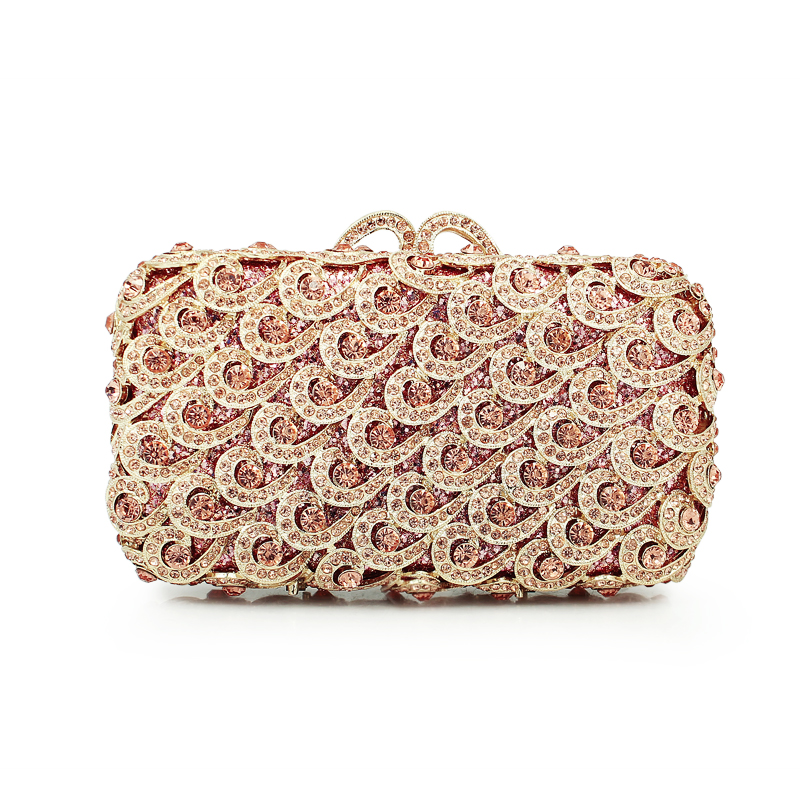 crystal clutch evening bag ladies party wedding purse (88161A-C) faux crystal mosaic clutch evening bag