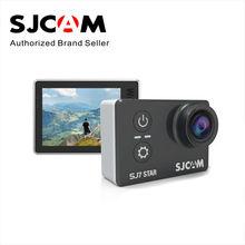 В наличии! оригинал sjcam sj7 star wifi 4 К 30fps «сенсорный экран удаленного действий камеры водонепроницаемый ambarella a12s75 шлем спорт dv