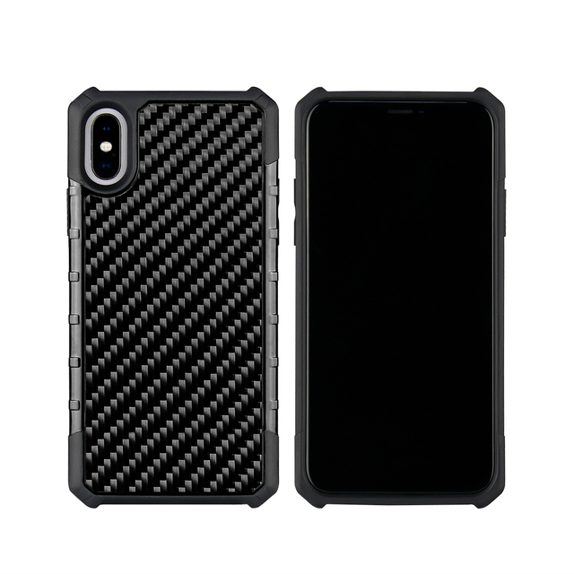Real Carbon Fiber Case for iPhone 7, 7Plus, 8, 8 Plus, X, XS, XR and XS Max