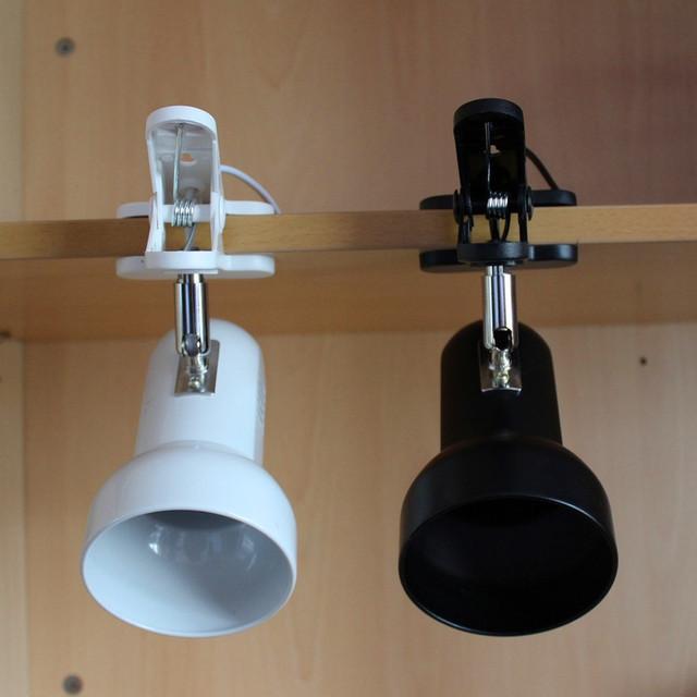 NOVA CHEGADA Adaptador Plug Girando Portátil Lâmpada de Mesa LEVOU Clipe sobre a Mesa Mesa de Leitura Do Livro Luz para a Leitura De Estudo Em Casa emergência