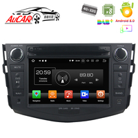 Android Car DVD Player for Toyota RAV4 2006 2012 Car GPS Multimedia system HD Bluetooth Radio WIFI 4G Stereo AUX touch screen
