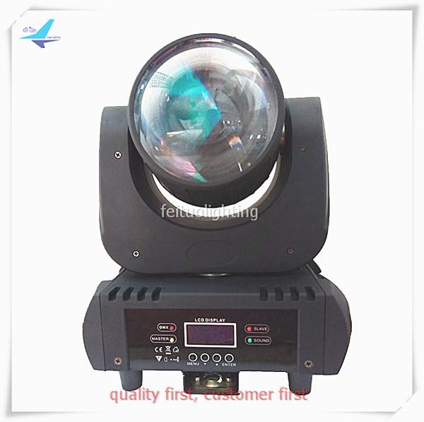 Hot Sell LED Super Beam 60w Moving Head Light Stage Light Mini 6 Colors RGBWAP Sky Beam Spot Lighting 60 Watt for Disco DJ Party