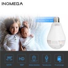 INQMEGA 960 P Wireless IP Kamera Birne Lampe Licht Panorama Fisheye Home Security Surveillance 360 Grad 3D VR k CCTV WIFI Cam