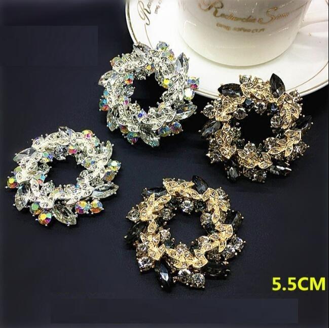 1 Para Von Hochwertigen Glänzende Farbe Von Rund Diamant Schuhe Blume Schuh Schnalle Schuhe Zubehör Erfrischend Und Wohltuend FüR Die Augen