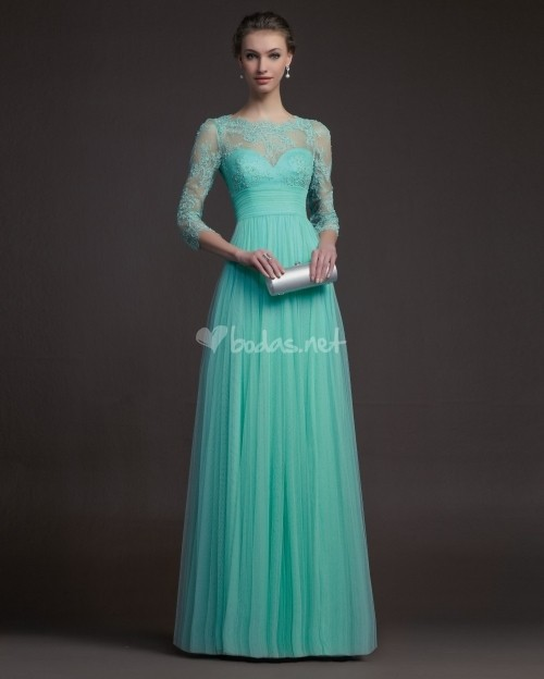 Aliexpress.com : Buy prom dresses 2014 long sleeve evening gown ...