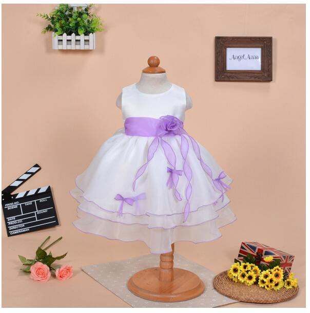 Baby Girls Pageant Formal Dresses 2017 Summer Baptism Bow Cute Infant Girls Princess tutu Dress Kids Birthday Party Dresses baby girls pageant formal dresses 2017 baptism bow lace cute infant girls princess tutu dress kids birthday party dresses pink