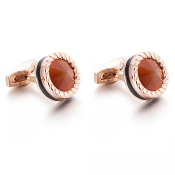 10pairs per lot VAGULA Men Jewelry Cuff links Wedding Gift Cuff links Button Gemelos 52506