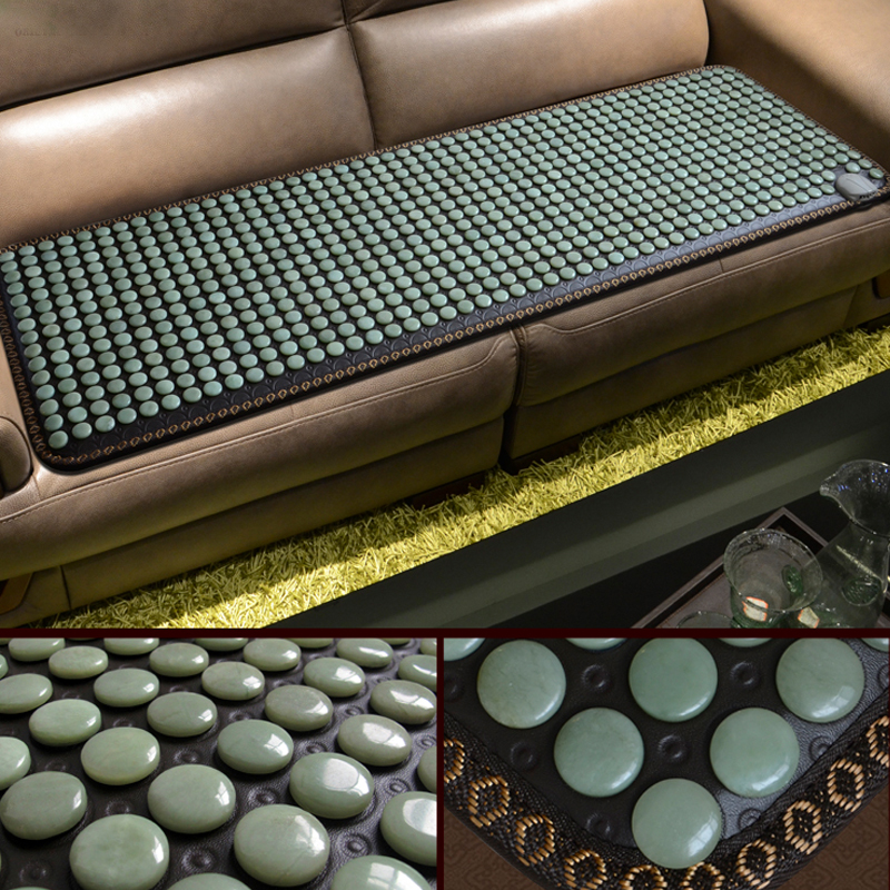 Korea Health Sofa Mattress Jade Tourmaline Germanium Electric Heating Pad Knee Pain Relief Thermal Stone Mat Mattress 2016 electric heating massage jade stone mattress korean mattress wholesaler 1 2x1 9m