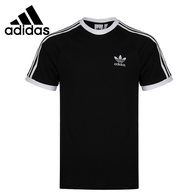 Original New Arrival Adidas Originals 3-STRIPES TEE Men's T-shirts Shirt Short Sleeve Sportswear