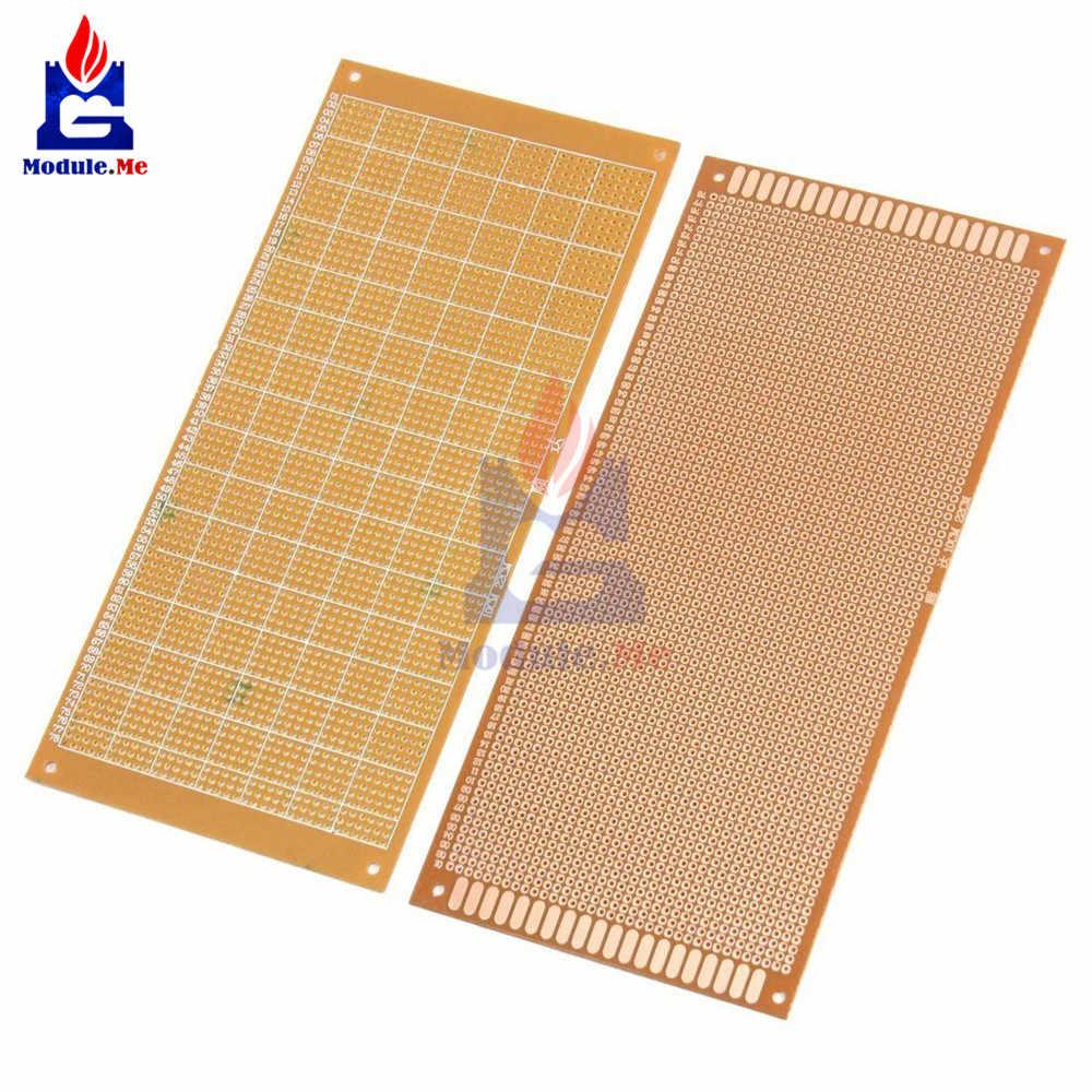 10x22 cm 10*22 CM bricolage bakélite plaque papier Prototype PCB universel expérience matrice panneau simple face feuille de cuivre 10x22 10x22