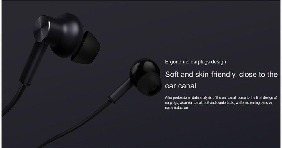 Оригинал Xiaomi 3,5 мм ANC Наушники гибридные 3 блока 2 класса шумоподавления Наушники с высоким шумоподавлением Hi-Res наушники (12)