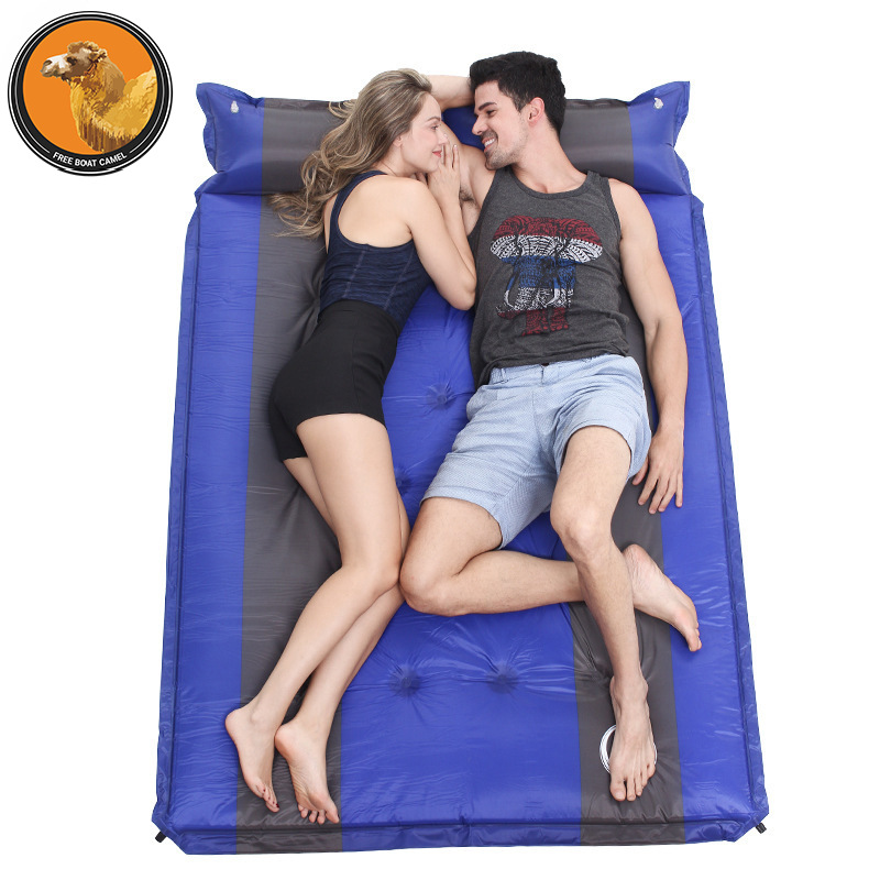 The raft of free camel double automatic blow-up lilo camping tent camping mat spot wholesaleThe raft of free camel double automatic blow-up lilo camping tent camping mat spot wholesale