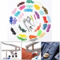 300 pieces 10 Colors KAM Snaps T5 Snap Starter Plastic Poppers Fasteners +1 Pliers for Sewing Handmade DIY Cloth Suplies
