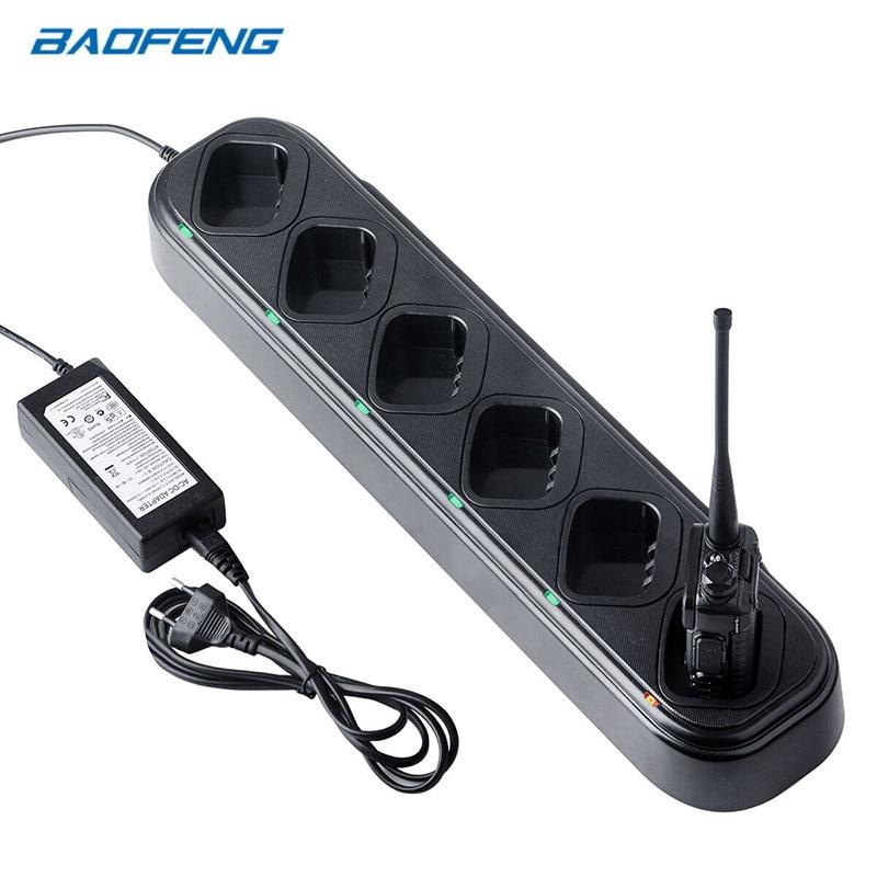 Baofeng chargeur de UV-5R talkie-walkie 6 voies chargeur Station 48 W chargeur de batterie pour Baofeng UV5R UV5RE UV5RA