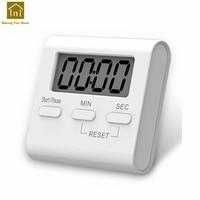 Kitchen Electronic Timer Alarm Clock Reminder Lcd Display Digital Countdown Timer Clocks Minuteur Home Electronics WKG035