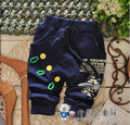 (1piece /lot) 100% cotton 2016 new dark blue baby long pant 0-3 year old