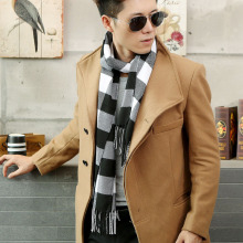 South Korea's new men's Scarf Shawl cashmere thickened winter dual-purpose female Korean fashion wholesale manufacturers