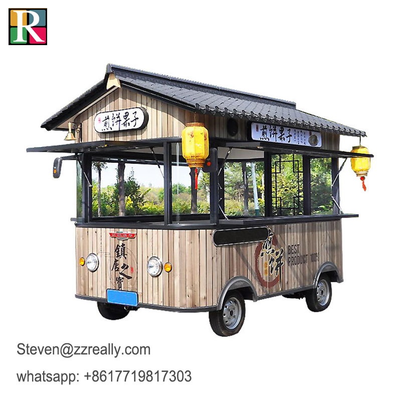 RL-C34-2 Mobile Food Truck 3.4m Small Food Truck Mobile Cabin
