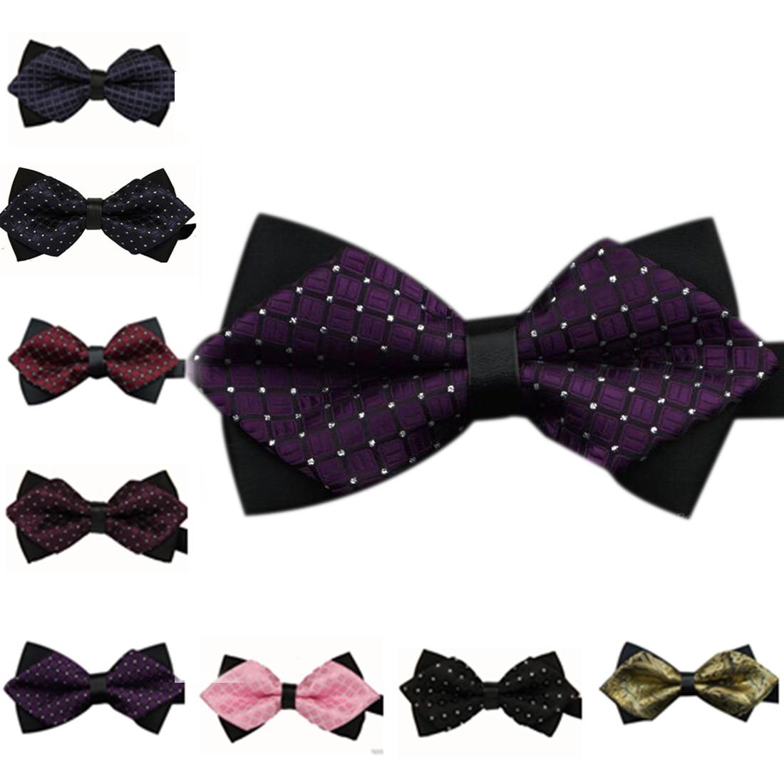 New 2016 Formal Commercial Bow Tie Fashion Men Bowties For Boys Accessories Cravat Bowtie