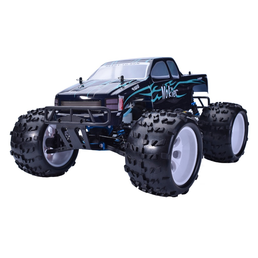 HSP Baja 94862 Rc Car 1/8 Nitro Power UNIVERSAL MONSTER Car 4wd Off Road Rally Short Course Truck RTR Similar REDCAT HIMOTO P2 02023 clutch bell double gears 19t 24t for rc hsp 1 10th 4wd on road off road car truck silver