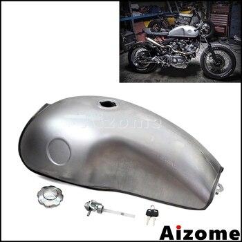 2.6 Gal Mojave Tank For Honda Kawasaki Yamaha BMW CB XS SR XV RD50 350 400 R100 R 750 Cafe Racer Scrambler Custom Fuel Tank 10L