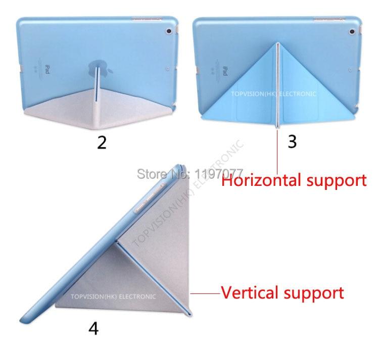 Lep trd in prilagodljiv tpu silikonski mehki hrbtni usnjeni pametni - Dodatki za tablične računalnike - Fotografija 2