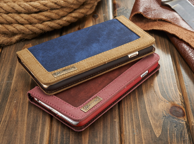 Retro Vintage Jeans PU Leather Stand Wallet Case Credit Card Slot Holder Cover for iphone X 5 5S SE 6 6S Plus 7 7plus 8 Plus