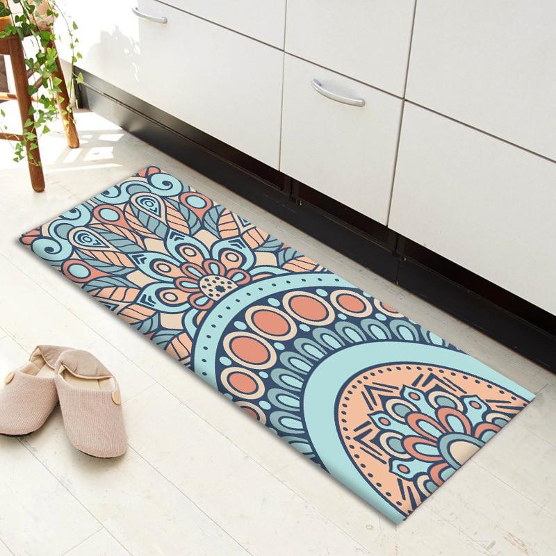Zeegle Korridor Boden Matte Asorbent Schlafzimmer Teppich Kuche