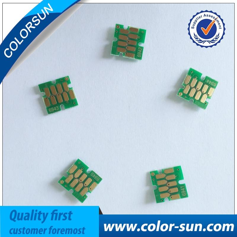 Nuovo uso una volta Circuiti Integrati Della Cartuccia per Epson Surecolor  T3000 T5000 T7000 Cartucce di Inchiostro 291f6c5c8c02