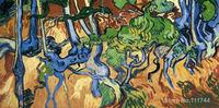 paintings of Tree Roots Vincent Van Gogh artwork Oil on canvas High quality Hand painted