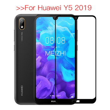 Safety Tempered Glass For Huawei Y5 2019 Protective Glass on For Huawei Y 5 2019 Screen Protector Y52019 AMN-LX1 AMN LX1 5Y 2019 image