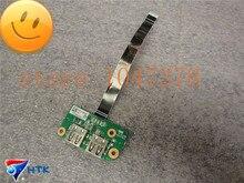 Оригинал для toshiba satellite l755 l755-s5214 dual usb-порт совет ж кабель da0bl6tb6f0