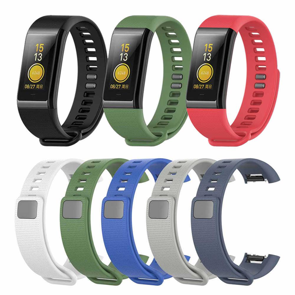 Pulsera cómoda de repuesto colorida para relojes Huami Amazfit Cor, pulsera de silicona para relojes Huami Amazfit Cor