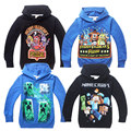 2017 fnaf T-shirts for boys children's T-shirt  kids T shirts 5 nights with Freddie hoodies at Freddys spring hooded sweatshirts