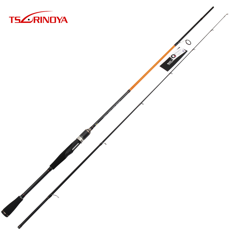 TSURINOYA PIONEER 2.1m M/ML Power Spinning Rod Fishing Rod FUJI O Guide Ring TORAY Carbon fiber EVA Handle Fishing Rod Lure Rod eurocor high carbon fuji accessories 3 m 3 6 m 2 7 m 3 section straight handle lure rod perch rod boat fishing rod