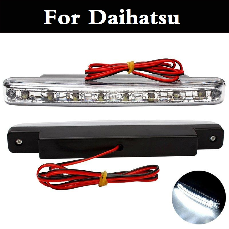 New Car Daytime Running Lights Fog Lamps Braking Signal Indicators For Daihatsu MAX Mira Mira Gino Sirion Sonica Terios Trevis sc06e auto ac compressor for car toyota daihatsu terios 4 grooves 447220 6910
