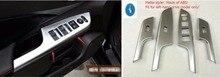 For Honda CRV CR-V 2013 – 2016 ABS Car Door Handle Holder Window Lift Switch Decoration Strip Cover Trim 4 Pcs