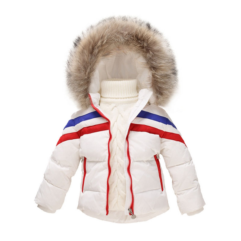 Winter Jacket For Girls Boys Kids Parka Clothes Children Warm Coats Thick Down Jackets Girls Snowsuits Brand Clothing Outerwear winter down jacket for boys girls kids clothes children thicken warm coats duck down jackets girl fur parka hooded snowsuits