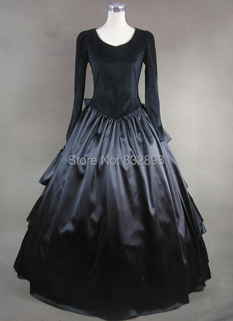 Hot Sale Direct Selling Natural Shipping Layer Aristocrat Gothic Style Dress Cotton Victorian Clothing Party Dress