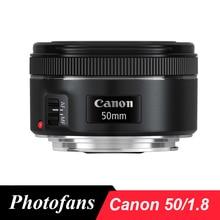 Canon 50 1.8 Ef 50Mm F/1.8 Stm Standaard Lens Dslr Lenzen Voor Canon 650D 700D 750D 800D 60D 70D 80D 7D 5DII 5Ds 5Diii