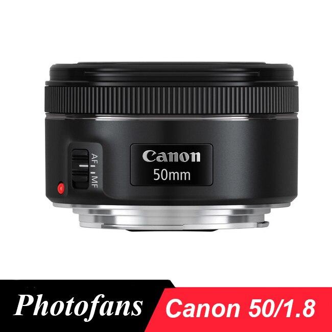 Canon 50 1,8 EF 50mm f/1,8 STM lente estándar Dslr lentes canon 650D 700D 750D 800D 60D 70D 80D 7D 5DII 5Ds 5DIII