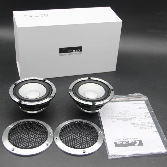 LABO 3.5″ aluminum cone frame 150W output power 92dB Car audio speaker Midrange LB-BS98HG