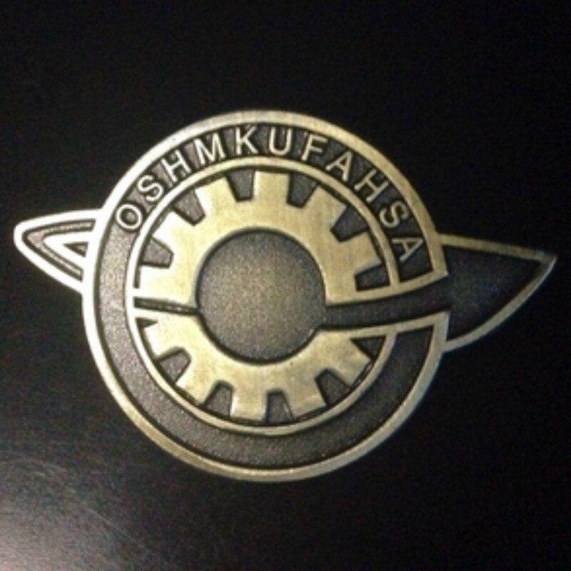 2017 Anime Steins;Gate Makise Kurisu labmem Japanese Lapel Pin Brooch Badge Cosplay The fate of the stone door