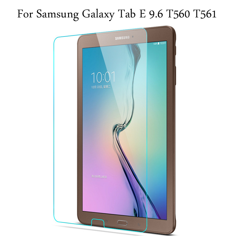 Tempered Glass Membrane For Samsung Galaxy Tab E 9.6 T560 T561 Steel Film Tablet Screen Protection Toughened