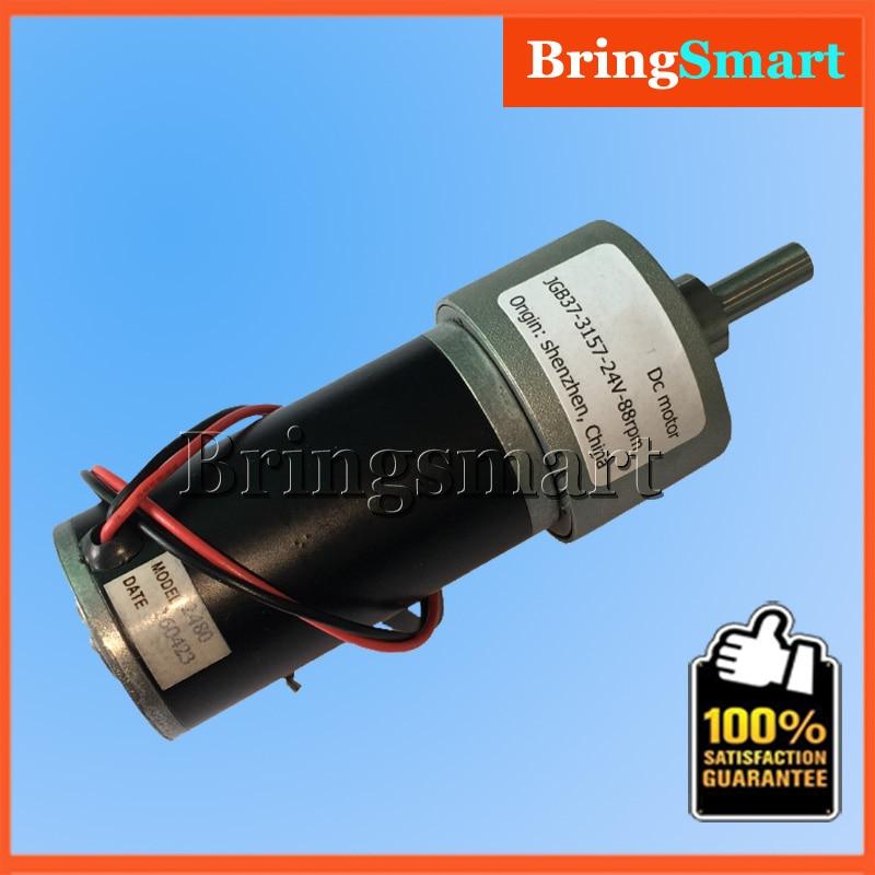 Jgb37 3157 24v dc reversible reduction geared motor 12 for 12 volt gear motor